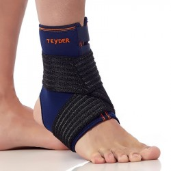 OPEN ANKLE BRACE WITH STRAP 551TB